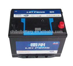 Design hot sale car battery recharger 55D26LMF 12v60AH