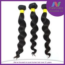 Hot selling 6A grade virgin unprocessed indian human hair extension wholesale hair weave distributors