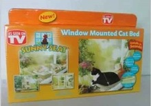 2014 sunny seat supply window mounted cat bed