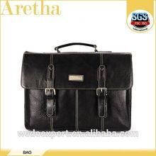 promotional handbag,aretha leather briefcase for men
