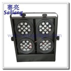 48pcs 3W RGB Stage LED Audience Blinder Lighting/Wall Washer/ 4 eyes Light