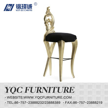 hot product carving back tall bar chair \hotel chair\hotel furniture