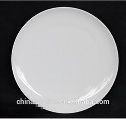 """New product 10.5"""" 27cm high quality white porcelain dinner plate/bulk stock cheap"""