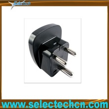 University to South africa travel adapter plug with secuity gate SES-10