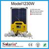 High quality CE ROHS solar dc ac 50hz 2kw mono 250w solar panel home lighting system price with