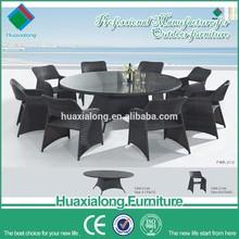 outdoor pe rattan wicker 8 seaters garden furniture import