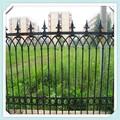 Iso 9001 vinha decorativas jardim cerca/grades de ferro forjado para a venda