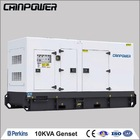 10kva silent type perkins china electric generators factory with honda diesel generator spare part