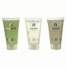 clear personalized small 30ml plastic cosmetic containers/ pet hotel skin care lotion bottles /french shampoo