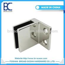 stainless steel handrail glass clip glass shelf clips