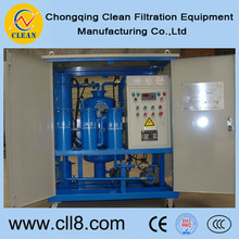 TY50 Automatic back flushing system turbine oil filtrating unit with high cleanness,filtering