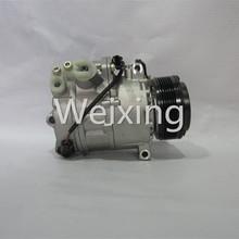 Car AC Compressor CSE717C Pulley PV6 for BMW X5 3.0i E70 2008 2009 2010 2011 2012