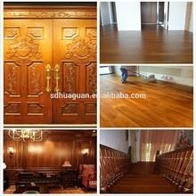 high quality teak wood veneer for executive desk/wood veneer face veneer sheet