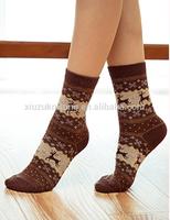 Anti-foul Breathable Quick-dry Sock OEM High Quality&Comfort Custom Lady Jacquard Dress 176N Sock