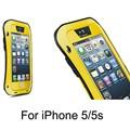 ücretsiz nakliye çin spor moda şok/damla/su geçirmez çanta üreticisi sert metal telefonu durumlarda iphone 5 5s