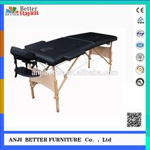wooden antigravity massage table