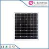High quality CE ROHS solar dc ac 50hz 2kw thin film solar panel flexible