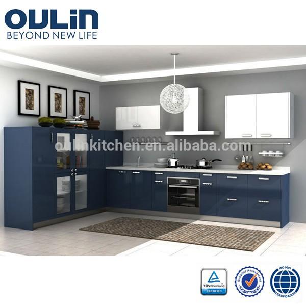 Modern design 2015 cheap modular kitchen cabinet door for