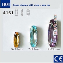 fashion fancy sew on rhinestone trimming from china manufacturer