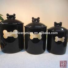 Eco-Friendly high quality ceramic custom pet canister