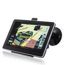 "7"" Car Multimedia System with GPS Navigation Bluetooth and TV"