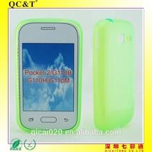 wholesale china mobile phone case inner scrub TPU for Pocket 2 G110B