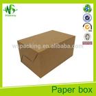 Cheap loaft cheese cake packing box cake box kraft paper cake box