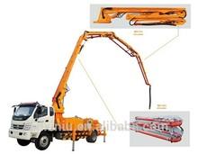 Small concrete pump 22m 25m 28m 37m truck mounted concrete pumps for sale