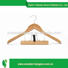 china wholesale websites natural bamboo clothing hanger