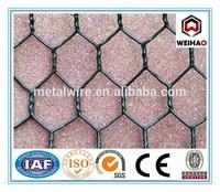 PVC Chicken wire netting/Gi hexagonal wire netting/hexagonal wire mesh fence