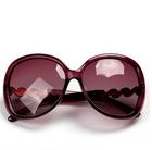 2015 Fashion shining large party sunglasses wholesale