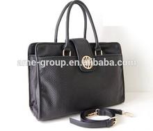 Classical Stylish Black Unisex PU Shoulder Bag Cross body bag