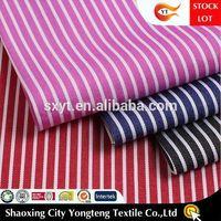 cotton stretch stripe fabric