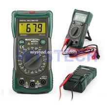 M053 MASTECH MS8233C LCD Digital Multimeter DMM AC DC Voltage Detector Backlight