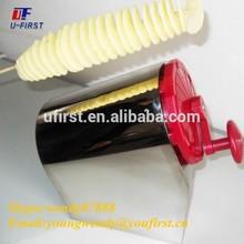 Manual spiral potato cutter machine