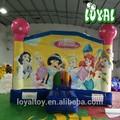 2015 melhor venda bouncer inflável, newes t0.5mm inflável do pvc, da classe comercial com ventilador do ce bouncy castelo