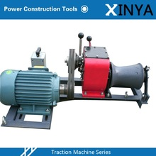 1 Ton Engine Driven Single Drum Winch With Electric Winch