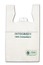 Biodegradable T Shirt Plastic Bag Wholesale