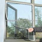 DIY velcro fiberglass mosquito screen for window (Direct factory)