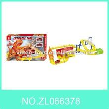 66378#Speed electric fire fighting railway car toys with EN71,EN62115,ASTM,HR4040,Pb,CD,7P