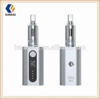 New Clearomizer 2015 Karass ecig iCoopa S1 touch screen mechanical mod huge vapor 510 thread 4400mah vaporizer battery