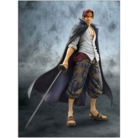 Hot sell 23cm POP One Piece The red top battle four Huang shanks PVC action figure