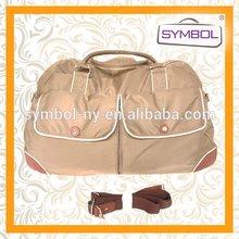 Good quality most popular stylish cotton canvas golf travel bag