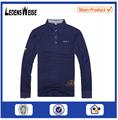 الصين مصنع عادي 2015 أزياء مخصصة أحدث التصاميم قميص اللباس قميص بولو للالتعب