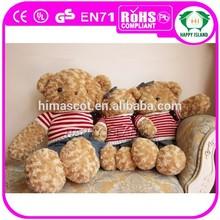 HI Plush toy importer plush animal toy bear valentines teddy bears wholesale