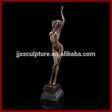 Nude Female Bronze Sculpture