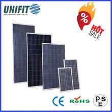 156*156 Polycristalline Water-prof 120v Solar Panel With CE TUV