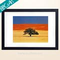 el arte abstracto y pinturas de acrílico de la única del árbol