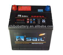 Designer new style car battery volt meter 55D23L 12v60AH