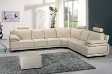 Shunde American style furniture leather lounge